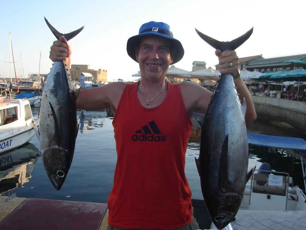 Tuna fishing kingfisher fishing trips paphos cyprus for Tuna fish price
